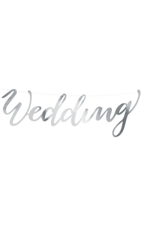 Girlanda Silver Wedding